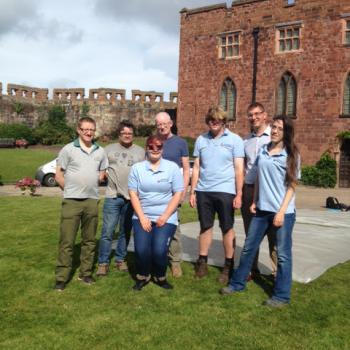 Archaeological Dig at Shrewsbury Castle