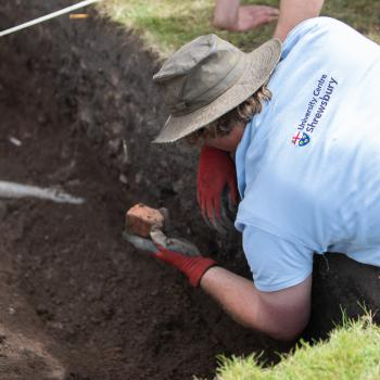 UCS participates in 2nd dig at Shrewsbury Castle